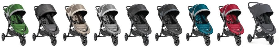Baby Jogger City Mini GT - All color versions