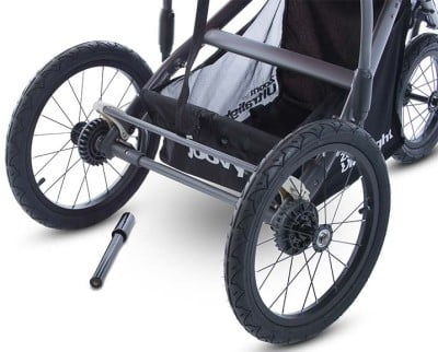 Joovy Zoom 360 Ultralight - Large wheels and storage basket