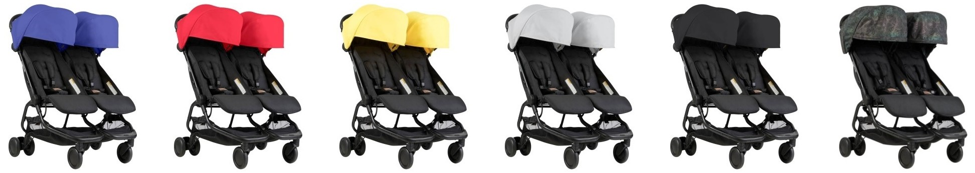 Mountain Buggy Nano Duo 2018 - All color versions
