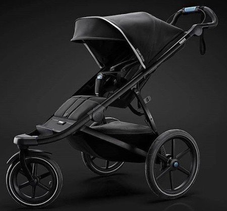 Thule Urban Glide 2 - Reflective parts glow in the dark