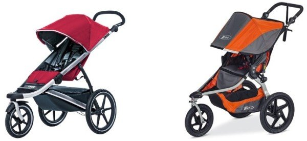 Thule Urban Glide vs BOB Revolution Flex