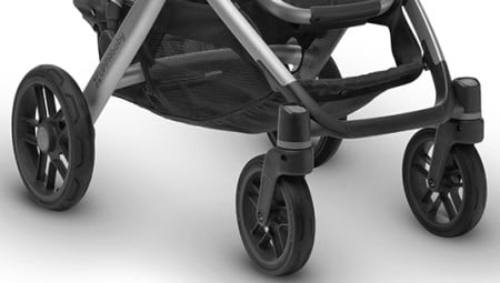 UPPAbaby VISTA 2018 & 2019 - New front wheel design