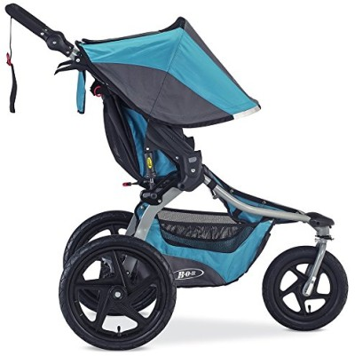 BOB Revolution Flex is not a small stroller, but it's designed to handle all types of terrain and hold even a heavy preschooler