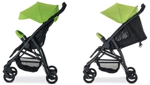Britax B-Mobile - Recline, Canopy + Side Ventilation