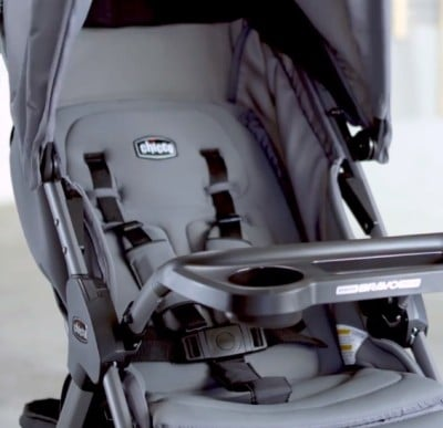 Chicco Mini Bravo Plus - Seat padding