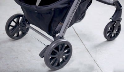 Chicco Mini Bravo Plus - Wheels and Brakes