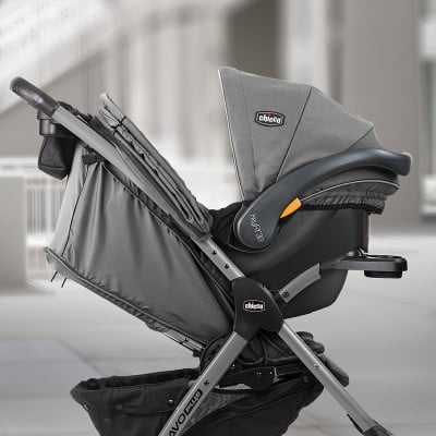 Chicco Mini Bravo Plus travel system with KeyFit car seat