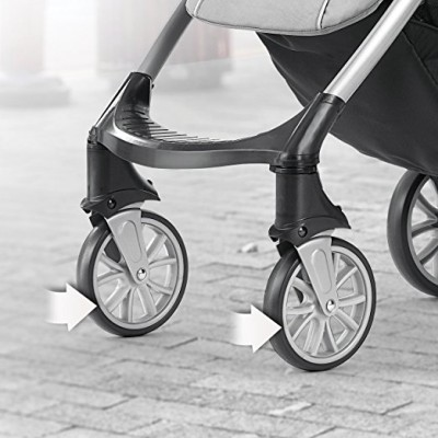 Chicco Mini Bravo - Swivel front wheels