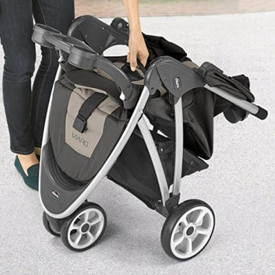 Chicco Viaro Stroller - Easy one-hand folding