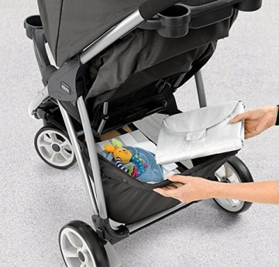 Chicco Viaro Stroller - Storage basket