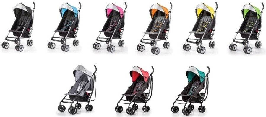 Summer Infant 3Dlite Convenience Stroller - All color versions