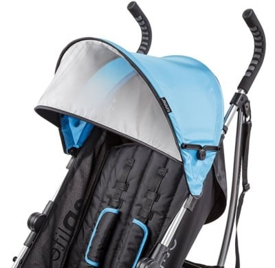 Summer Infant 3Dlite Convenience Stroller - Canopy with sun visor