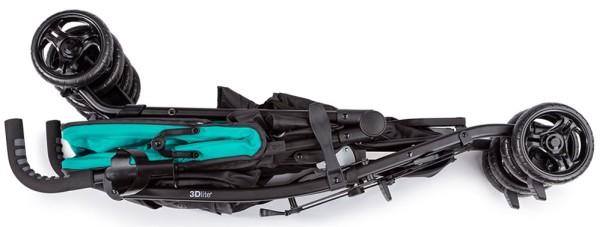 Summer Infant 3Dlite Convenience Stroller - Folded stroller