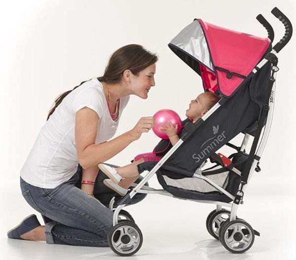 Summer Infant 3Dlite Convenience Stroller - One of the best lightweight strollers