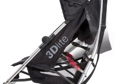 Summer Infant 3Dlite Convenience Stroller - Seat recline