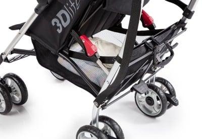Summer Infant 3Dlite Convenience Stroller - Storage basket