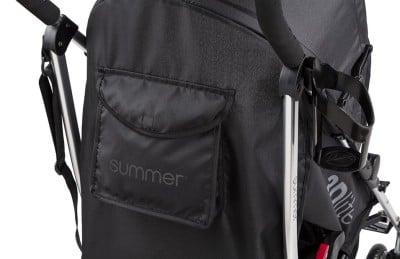 Summer Infant 3Dlite Convenience Stroller - Storage pocket