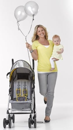 Summer Infant 3Dlite Convenience Stroller - Unadjustable, tall handles