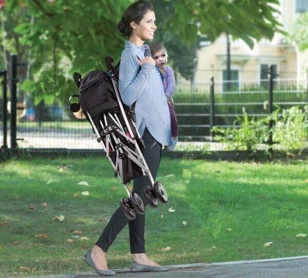 Summer Infant 3Dlite Convenience Stroller - carry strap