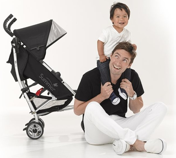 Summer Infant 3Dlite Convenience Stroller for baby