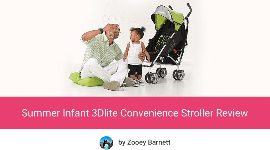 Summer Infant 3Dlite Convenience Stroller review