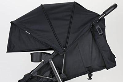 ZOE XLT DELUXE - Big canopy and near-flat recline