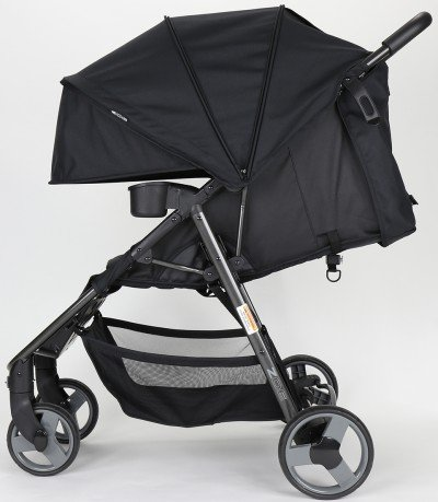 ZOE XLT DELUXE - Lightweight stroller with big canopy and near-flat recline