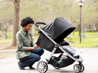 Britax B-Lively - deep recline (Best convertible strollers for 2020)