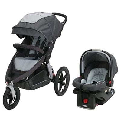 Graco Relay Click Connect Jogger Travel System