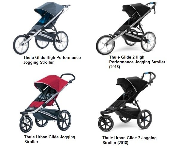 Thule single jogging strollers