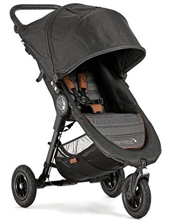 Baby Jogger City Mini GT 3 wheel all terrain stroller for snow