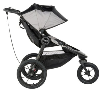 Baby Jogger Summit X3 - non-adjustable handlebar for short and average parents
