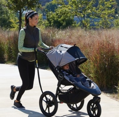 Baby Jogger Summit X3 - Stroller for rollerblading