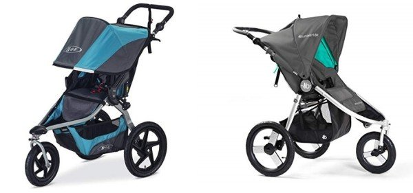 Best jogging strollers for snow - BOB Revolution Flex and Bumbleride Speed
