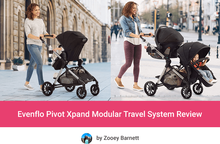Evenflo Pivot Xpand Modular New Cheap Expandable Stroller
