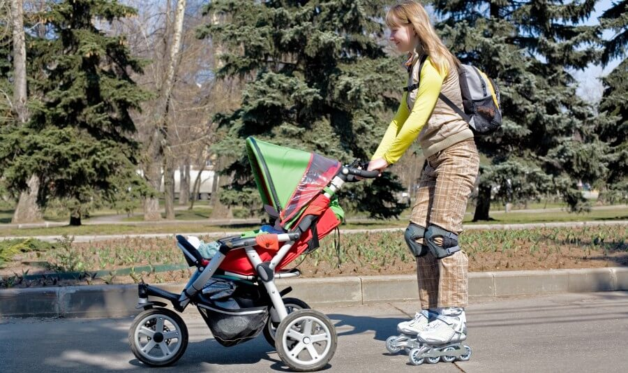 Rollerblading with stroller - Best strollers for rollerblading