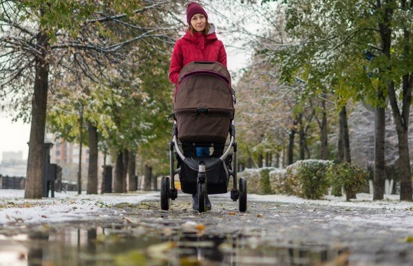 Stroller for winter weather