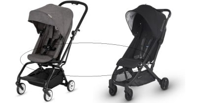 Calf rest on UPPAbaby MINU and Cybex Eezy S Twist