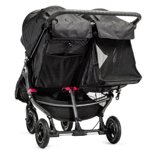 Baby Jogger 2016 City Mini GT double stroller back reclining