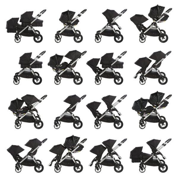 Baby Jogger City Select - over 16 seating combinations