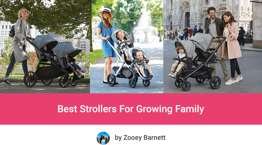 Best Expandable Strollers For Growing Family