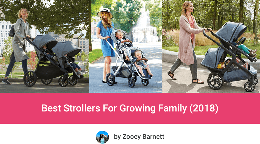 Best strollers for growing family 2018