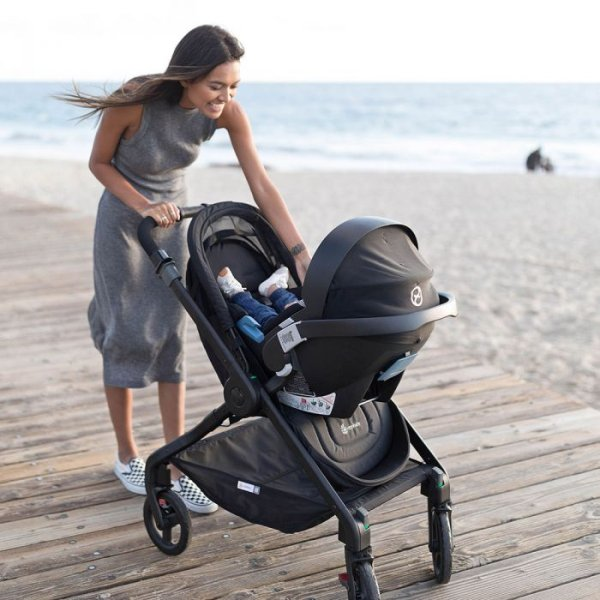 Ergobaby 180 Reversible Stroller - Compatibility with Cybex infant car seats