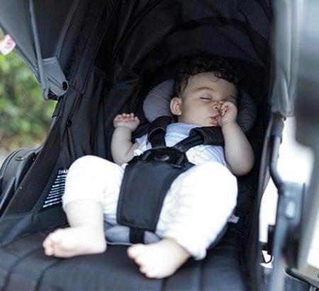 Ergobaby 180 Reversible Stroller - Near-flat recline
