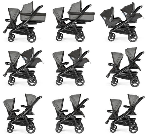 Peg Perego Team - all seating configurations