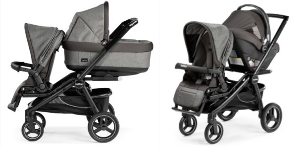 Peg Perego Team - best seating options for a newborn baby and toddler