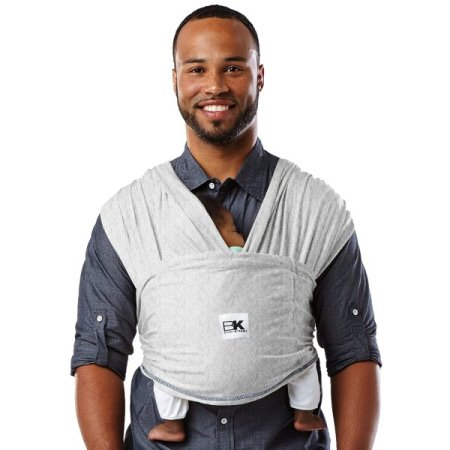 Baby K'tan Wrap is also a good baby carrier for dads