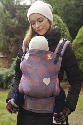 Baby Tula Carrier - Using baby carrier in winter