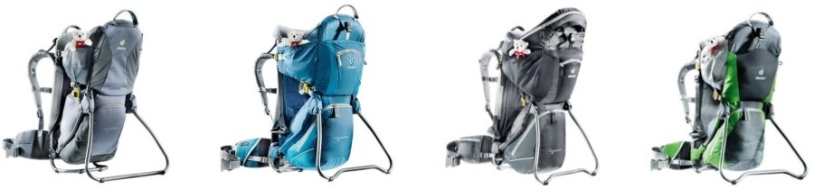 Deuter Kid Comfort I vs II vs III vs Air
