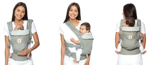 BEAUTIFUL BEGINNINGS BABY CARRIER WITH TWO WAY CARRYING POSITION FORWARD//INWARD